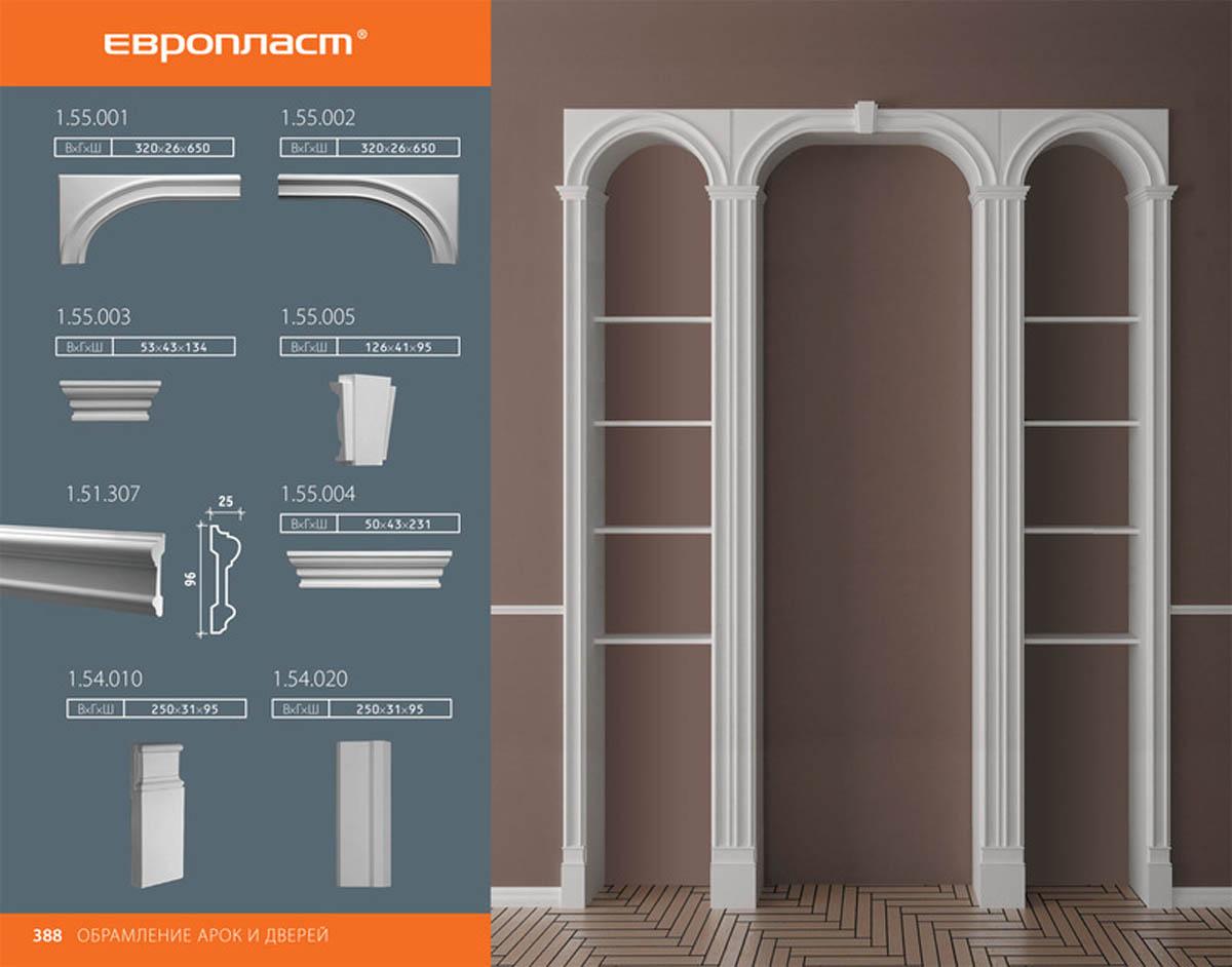Полудуга для оформления библиотечной системы Европласт 1.55.001