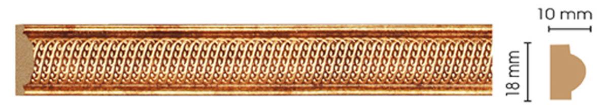 Молдинг цветной DECOMASTER 160A-893