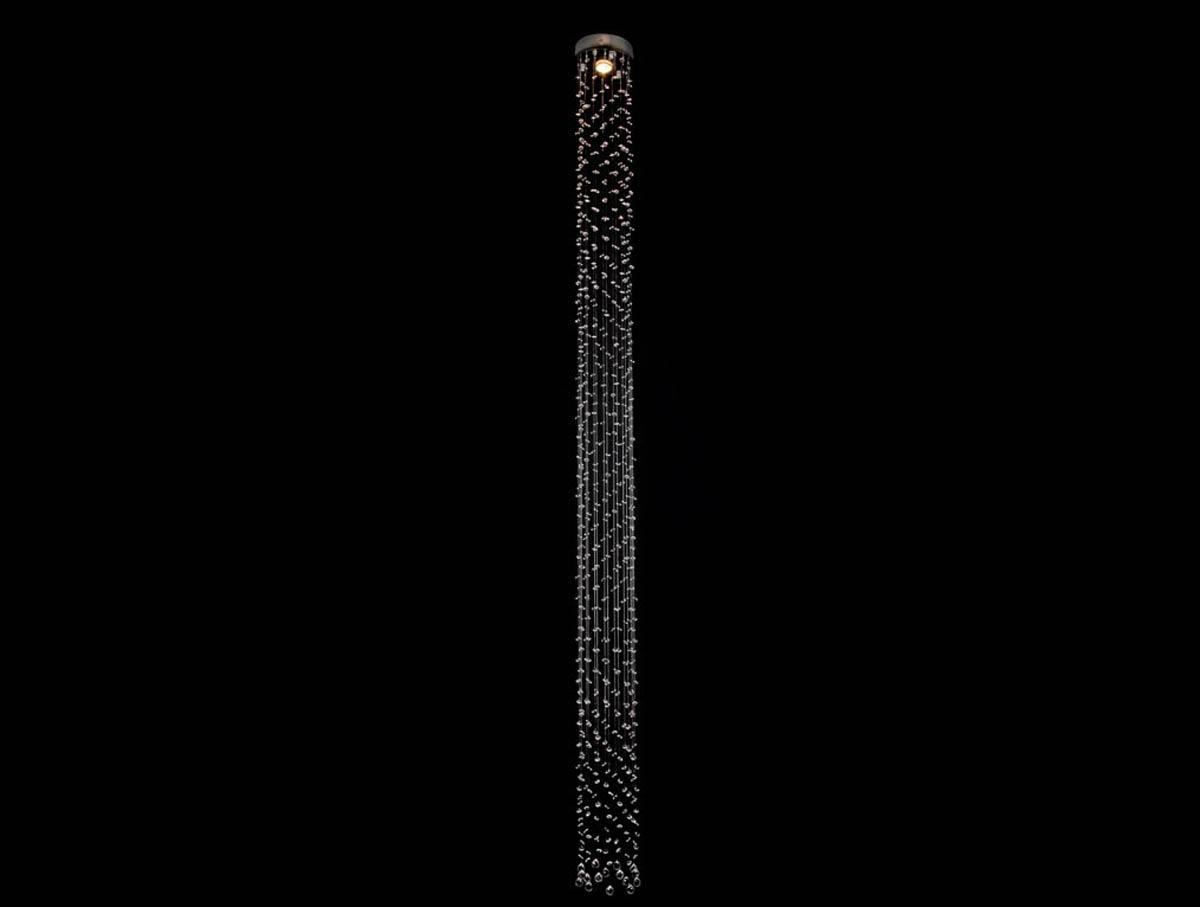 Люстра каскад NEWPORT 8031/250 cognac