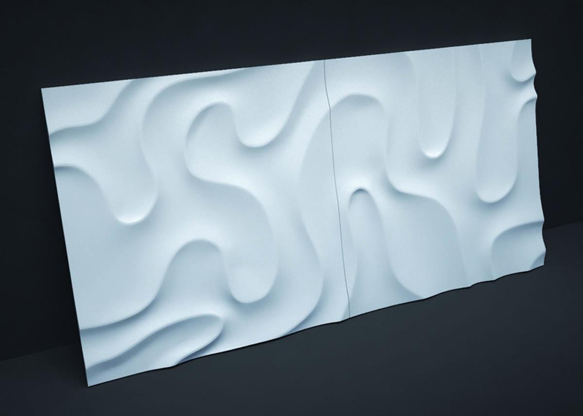 Гипсовая панель Artpole - 3D-панели D-0001-1 Fog 1