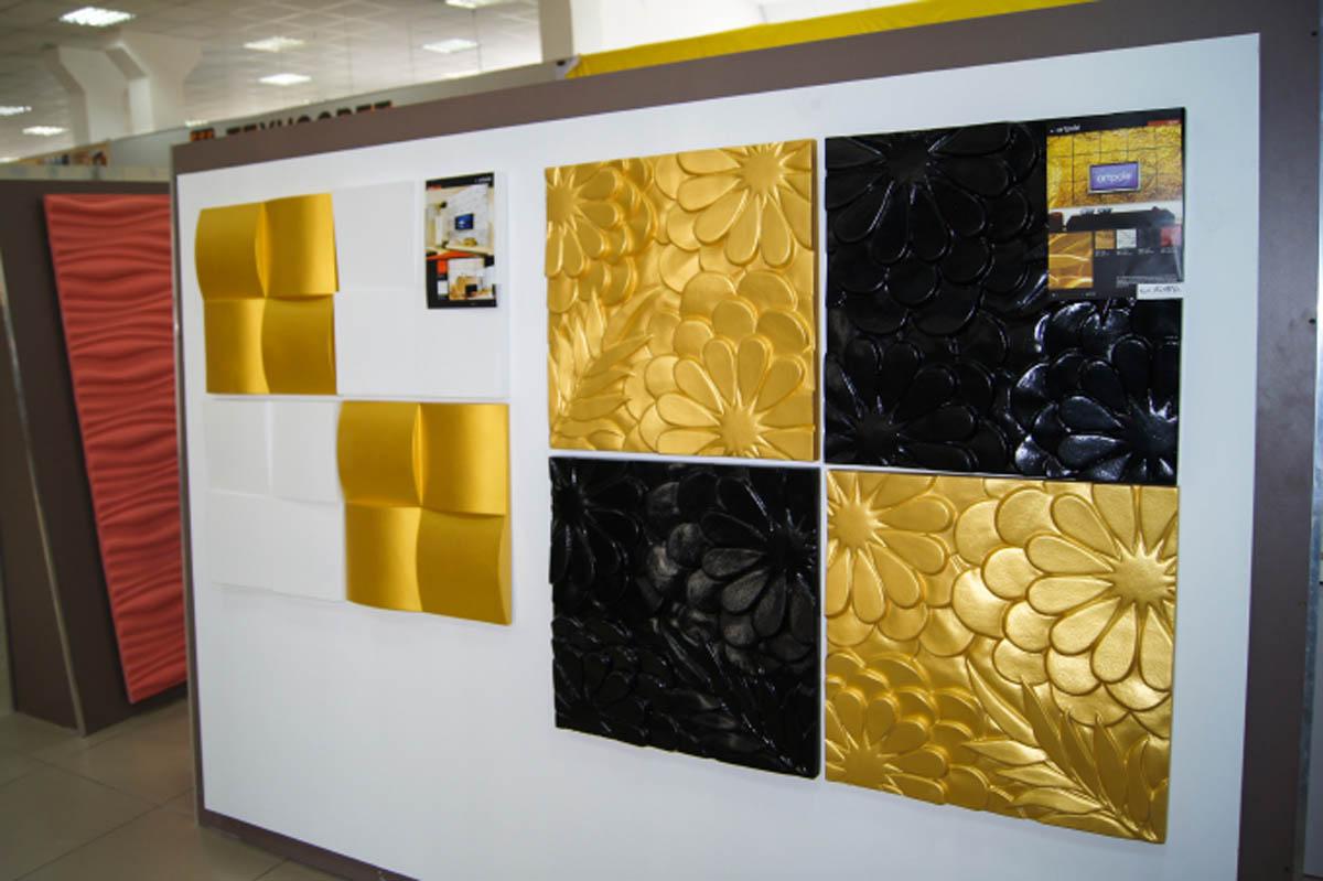 Гипсовая панель Artpole - 3D-панели M-0042 FLORA