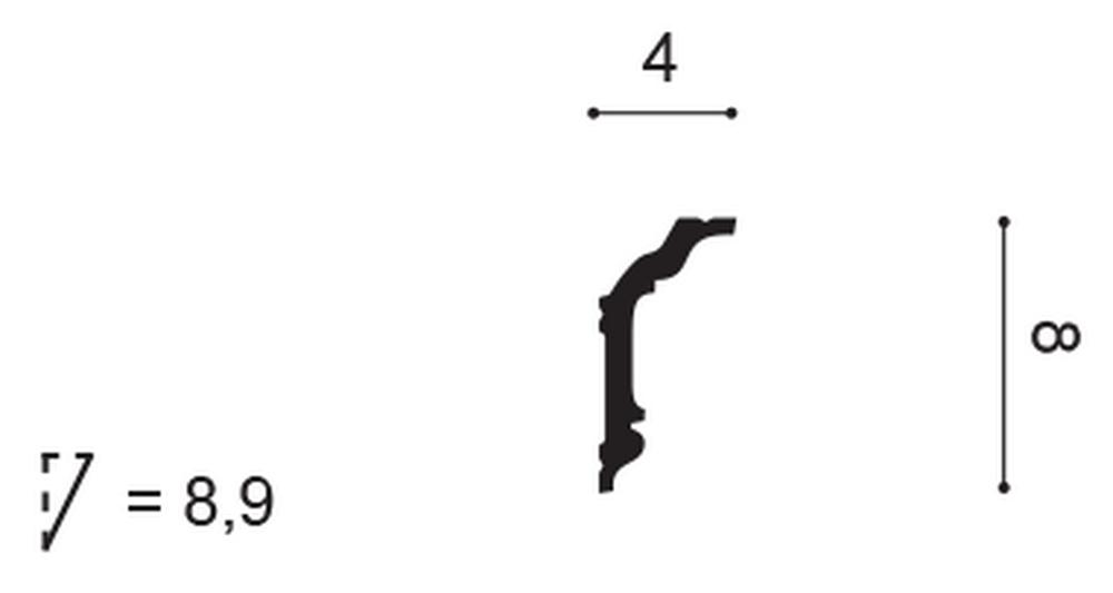 Карниз Orac Decor CX176