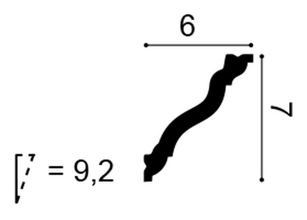 Карниз Orac Decor CX177