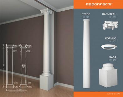 Кольцо колонны Европласт 1.11.200
