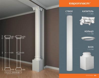 База колонны Европласт 1.13.100
