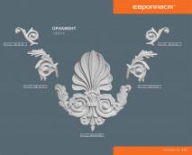 Декоративный элемент Европласт 1.60.019