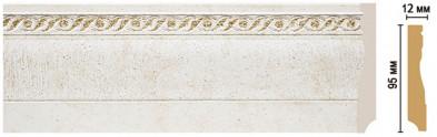 Плинтус напольный цветной DECOMASTER 153-40