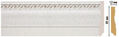 Плинтус напольный цветной DECOMASTER 153-42