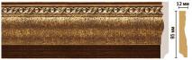 Плинтус напольный цветной DECOMASTER 153-43
