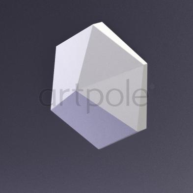 Гипсовая панель Artpole - 3D-панели CUBE-Ex1 E-0013