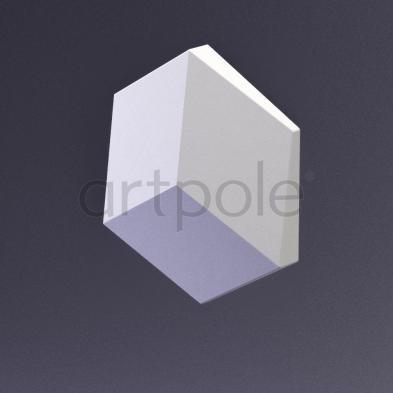 Гипсовая панель Artpole - 3D-панели CUBE-solo E-0012