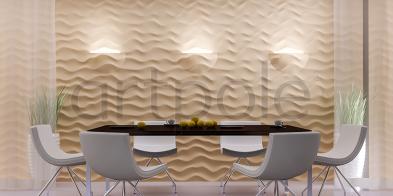 Гипсовая панель Artpole - 3D-панели D-0003-3 Sandy LED (RGB)