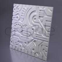 Гипсовая панель Artpole - 3D-панели М-0050 EX-MACHINA B