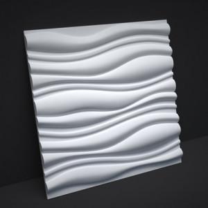 Гипсовые 3D панели