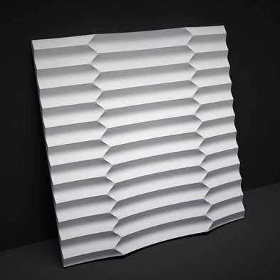 Гипсовая панель Artpole - 3D-панели M-0033 Ruffle