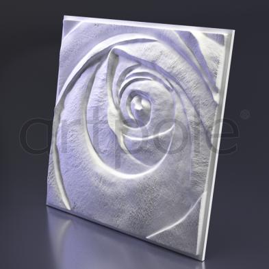 Гипсовая панель Artpole - 3D-панели М-0044-5 Rose Пятый элемент