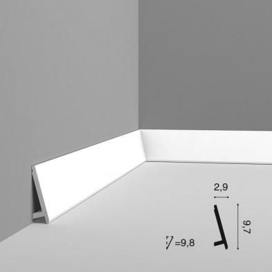Плинтус напольный гибкий Orac Decor SX179F