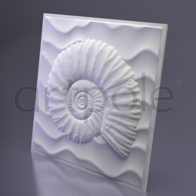 Гипсовая панель Artpole - 3D-панели M-0047 Underwater