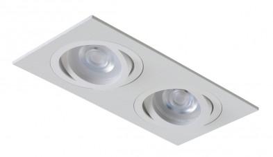 Светильник встраиваемый Crystal Lux CLT 002C2 WH