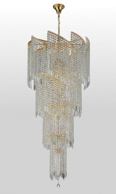 Люстра подвесная Crystal Lux GRANDE SP25 D800 GOLD