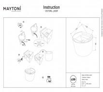 Бра настенное MAYTONI O573WL-L6GR