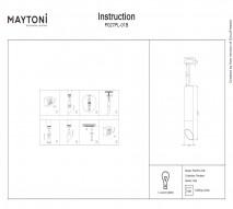 Подвес MAYTONI P027PL-01B