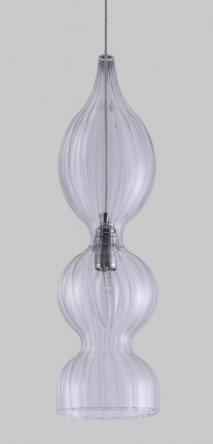 Подвес Crystal Lux IRIS SP1 B TRANSPARENT
