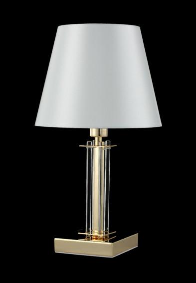 Настольная лампа Crystal Lux NICOLAS LG1 GOLD/WHITE