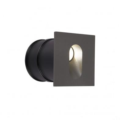 Светильник встраиваемый светодиодный MAYTONI O022-L3GR